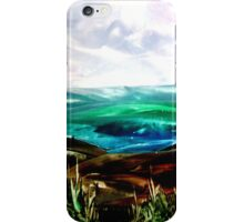 Ironed landscape iPhone Case/Skin