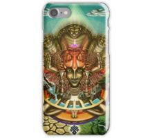 Young Sadhu's visionary pilgrimage iPhone Case/Skin