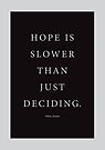 Tobias Sloane Quote Series 5 by Steve Leadbeater