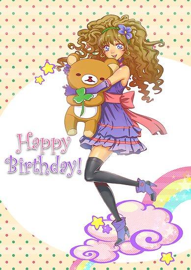Happy Birthday by Hikaru Yagi