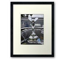 A Queen on her Throne Framed Print