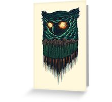 owl forest Greeting Card