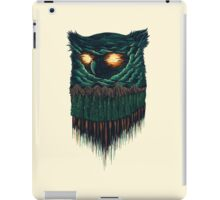 owl forest iPad Case/Skin