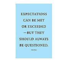 Tobias Sloane Quote Series 4 Photographic Print