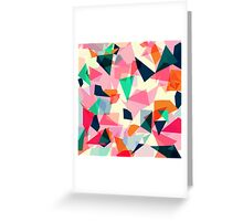 Loud Geometric Abstract Greeting Card
