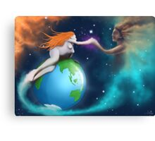 Mother Earth Father Sky Canvas Print