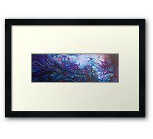 Depths Beyond (Best Viewed Large) Framed Print