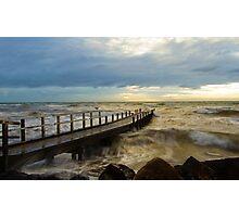 Wild Winter Seas  Photographic Print