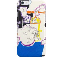 Night Drawings - Les Dessins de Nuit n°14  - Doll and girl...  iPhone Case/Skin