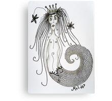 Mermaid Bride Canvas Print