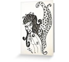 Sly Fairy Greeting Card