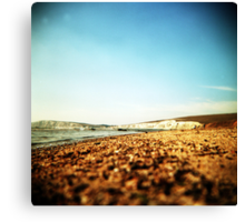 holga compton bay Canvas Print