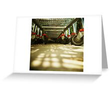 holga trolley Greeting Card