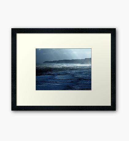 Shafts of Light Framed Print