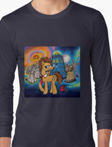 Doctor Whooves - Galaxy Long Sleeve T-Shirt