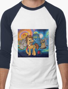 Doctor Whooves - Galaxy Men's Baseball ¾ T-Shirt