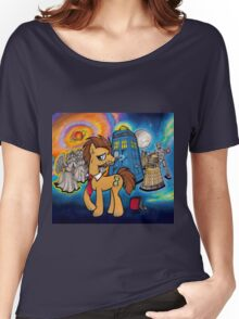 Doctor Whooves - Galaxy Women's Relaxed Fit T-Shirt