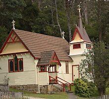 St. Raphael's All Saints Fern Tree Tasmania 1892 by PaulWJewell