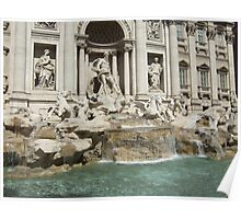 the Trevi Fountain Rome Poster
