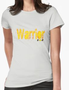 Warrior [-0-] Womens Fitted T-Shirt
