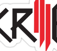 Skrillex FULL SIZE Logo Sticker