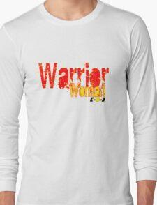 Warrior Woman [-0-] Long Sleeve T-Shirt