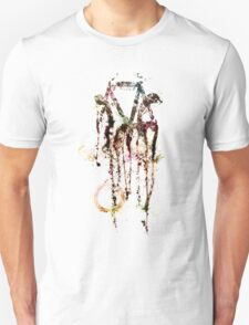 Bike Abstract (on white) T-Shirt
