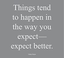 Tobias Sloane Quote Series 1 by Steve Leadbeater