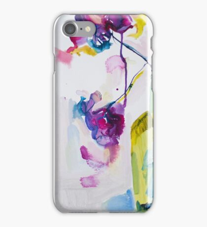 Flowers in Gin iPhone Case/Skin