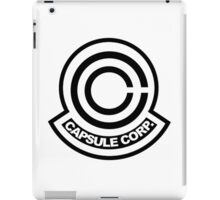 capsule corporation logo iPad Case/Skin