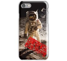 Pyramids on the Moon iPhone Case/Skin