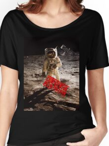 Pyramids on the Moon Women's Relaxed Fit T-Shirt