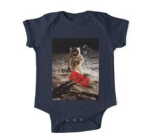 Pyramids on the Moon One Piece - Short Sleeve