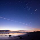 Sunset and stars at Sandy Point by Will Hore-Lacy