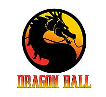 dbz logo Photographic Print