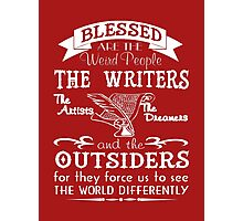 Writers, Artists, Dreamers Photographic Print