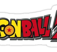 dbz logo long Sticker