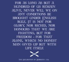 Declaration of Arbroath. 1320 by mikeyfreedom