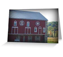 Pennsylvania Dutch Barn Greeting Card