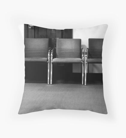 And waiting ... Throw Pillow