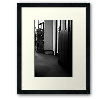 Filing system ... Framed Print