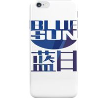 Firefly Serenity Blue Sun Logo iPhone Case/Skin