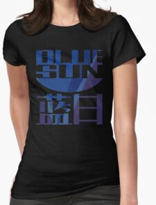 Firefly Serenity Blue Sun Logo Womens Fitted T-Shirt