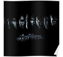 avenger characters Poster