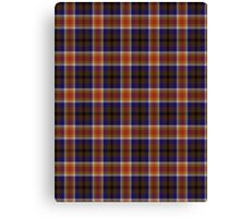 02875 Yolo County, California Tartan  Canvas Print