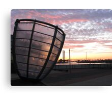 The Leaning Glass Canvas Print