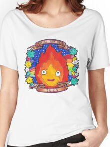 Calcifer - Let all your bacon BURN. Women's Relaxed Fit T-Shirt
