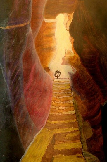 Stairways to heaven by Marie Luise  Strohmenger