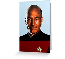 Captain Picard Greeting Card