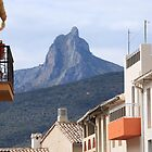 A View of Benicadell from L'Orxa, Spain by Philip Bateman